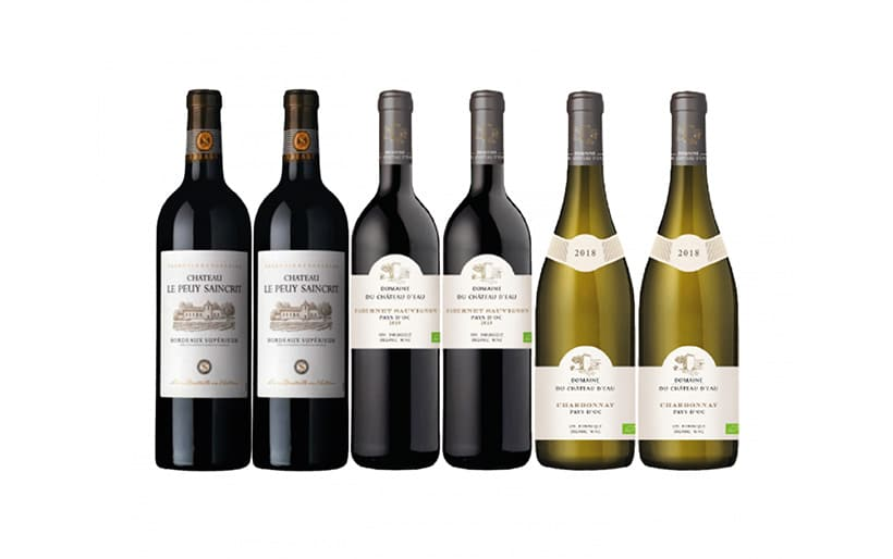 Wine by chill: French wine case offer
